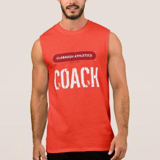 Clabaugh Athletics COACH Sleeveless Shirt