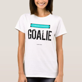 Clabaugh Athletics GOALIE in black T-Shirt