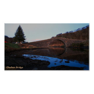 Clachan Bridge Poster