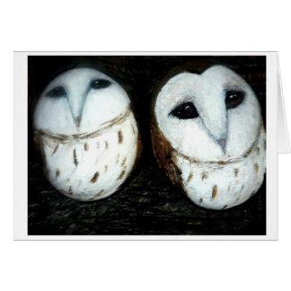 clachnaharry stones baby owls card