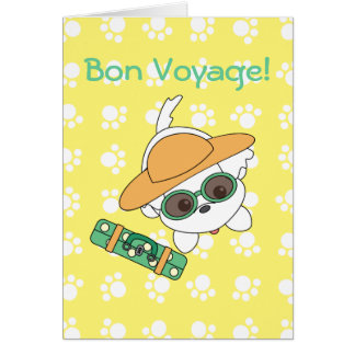 Clacney on Vacation! Card