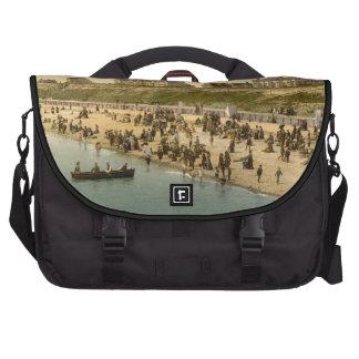 Clacton-on-Sea Beach I, Essex, England Commuter Bags