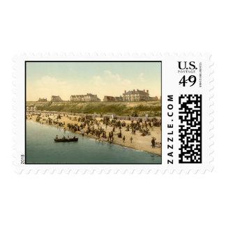 Clacton-on-Sea Beach I, Essex, England Postage Stamp