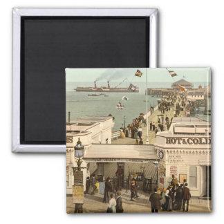 Clacton-on-Sea Pier I, Essex, England Refrigerator Magnets