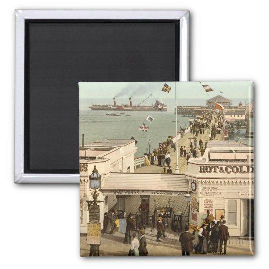 Clacton-on-Sea Pier I, Essex, England Magnet