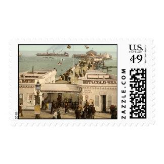 Clacton-on-Sea Pier I, Essex, England Postage Stamp