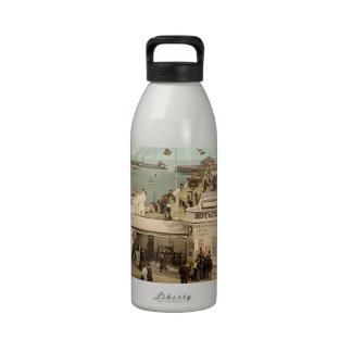 Clacton-on-Sea Pier I Essex England Drinking Bottle