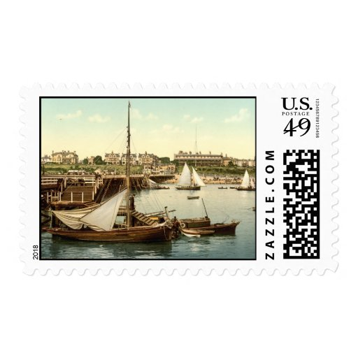 Clacton-on-Sea Pier II, Essex, England Postage Stamps
