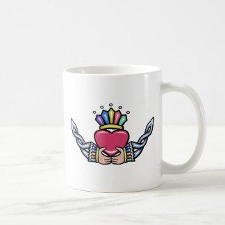 Claddagh #1B with Trinity Classic White Coffee Mug
