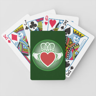 Claddagh Bicycle Playing Cards