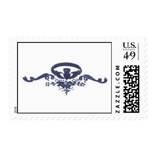 Claddagh Blue Stamps