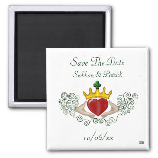 Claddagh (Full Colour) (Save the Date) Refrigerator Magnets