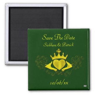 Claddagh (Gold) (Save the Date) Fridge Magnets