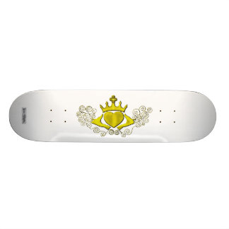 Claddagh (Gold) Skate Boards