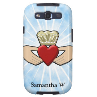 Claddagh Graphic with Red Heart Samsung Galaxy SIII Cover
