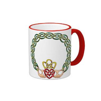 Claddagh Ringer Coffee Mug