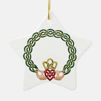 Claddagh Christmas Tree Ornaments