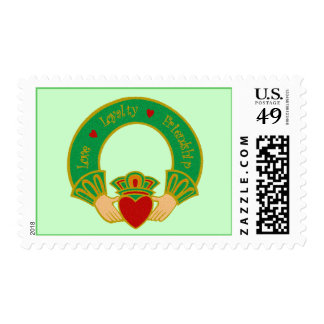 Claddagh Postage Stamps