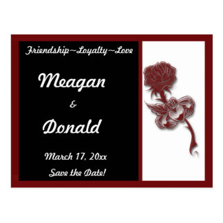 Claddagh Save the Date Postcard