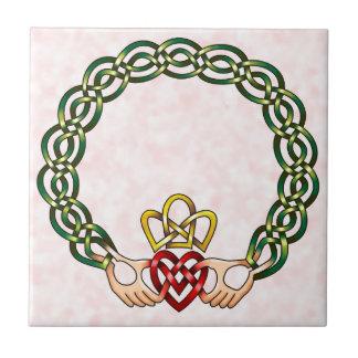 Claddagh Ceramic Tile