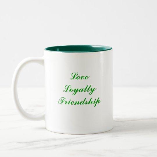 Claddagh Two-Tone Coffee Mug