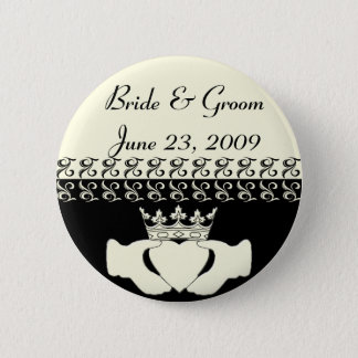Claddagh Wedding Invitation Set Button