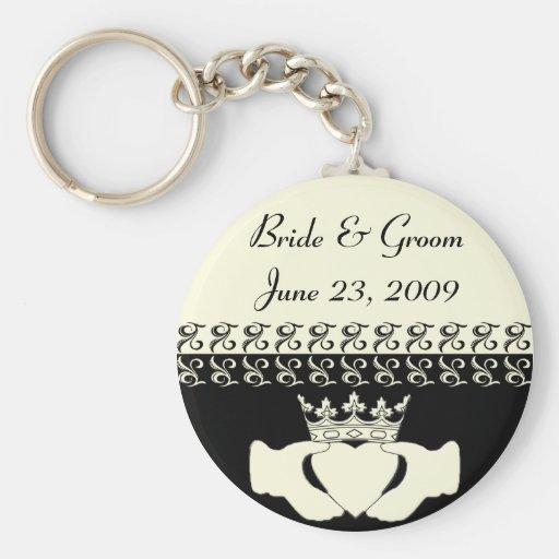 Claddagh Wedding Invitation set Key Chain