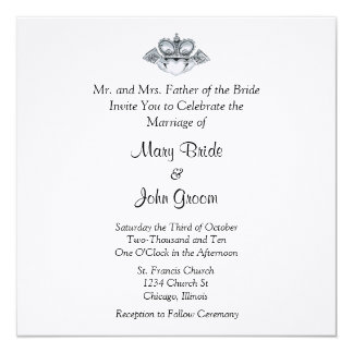 Claddagh Wedding Invitations