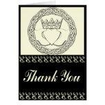 Claddagh Wedding set Thank you Cards