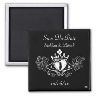 Claddagh (White) (Save the Date) Magnets