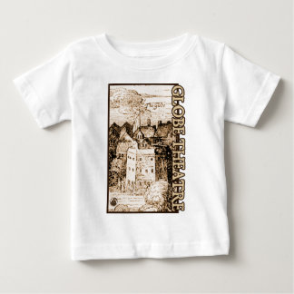 Claes Jansz Visscher Globe Theatre Engraving Baby T-Shirt