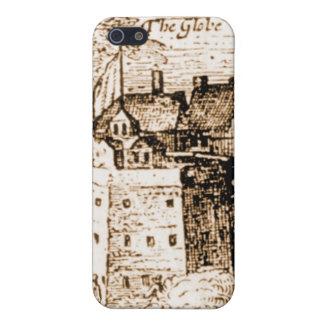 Claes Jansz Visscher Globe Theatre Engraving Case For iPhone SE/5/5s