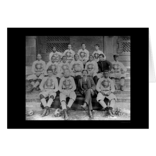 Claflin University Football Team, SC 1895 Card