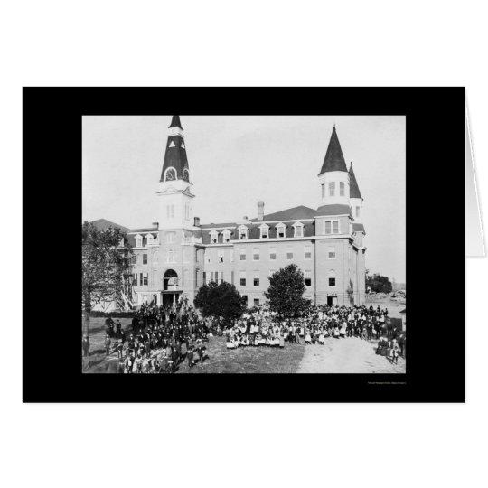 Claflin University in Orangeburg, SC 1900 Card