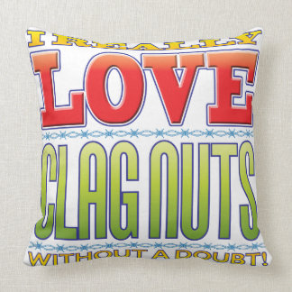 Clag Nuts Love Pillow