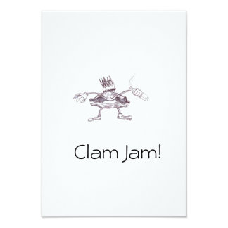 Claim Jam Invatations Card