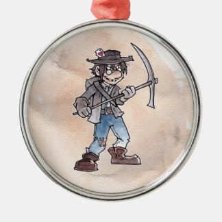 Claim Jumper Metal Ornament