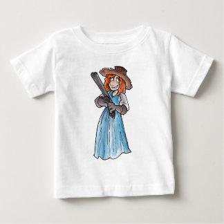 Claim Jumper with Gun Baby T-Shirt