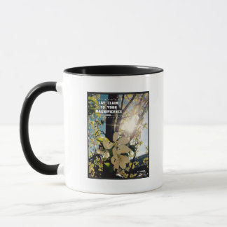 Claim Your Magnificence 11 oz Combo Ceramic Mug