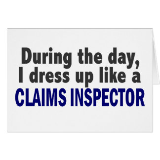 Claims Inspector During The Day Card