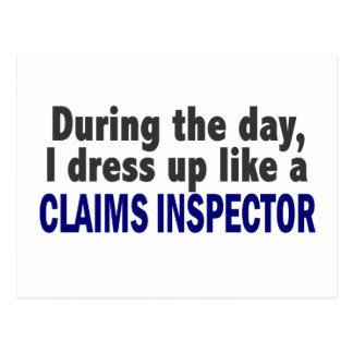 Claims Inspector During The Day Postcard