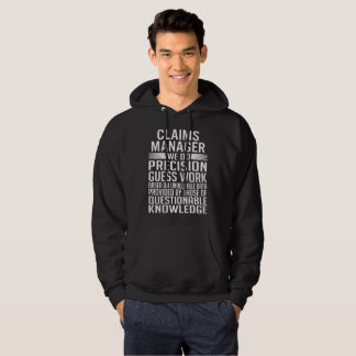 CLAIMS MANAGER HOODIE