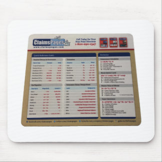 Claims Pages Official Mousepad