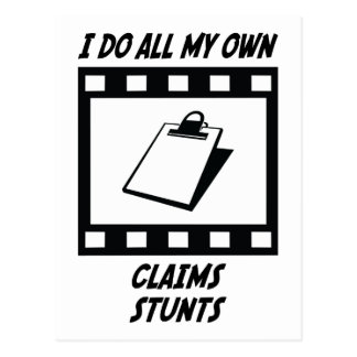 Claims Stunts Post Cards