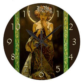 Clair de Lune Reloj Redondo Grande