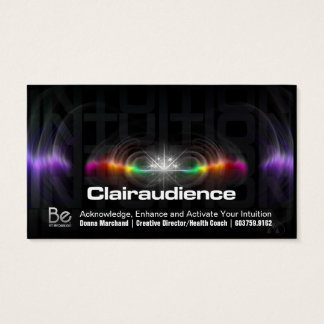 Clairaudience - 21 Day Perspective Challenge Business Card