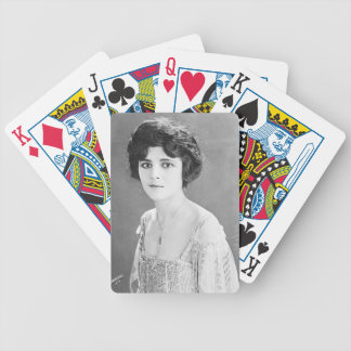 Claire Adams Portrait Bicycle Playing Cards