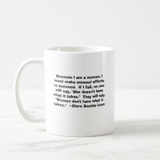 Claire Booth Luce Coffee Mug