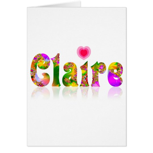 Claire Card