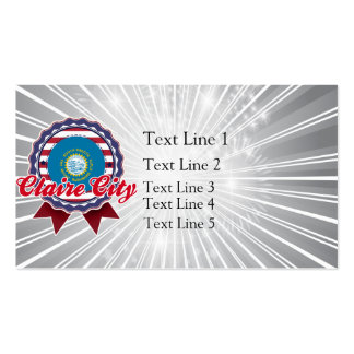 Claire City, SD Double-Sided Standard Business Cards (Pack Of 100)